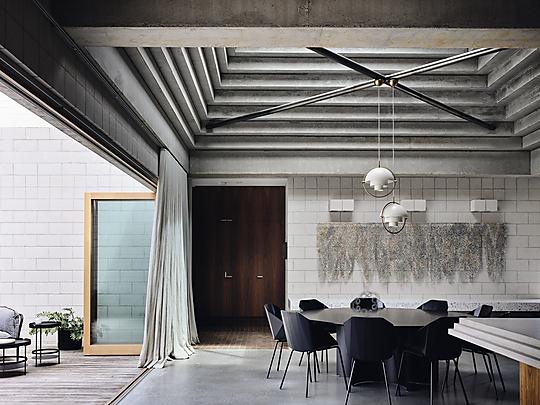 Interior photograph of Bellows House by Derek Swalwell