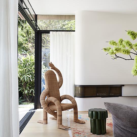 Interior photograph of La Casa Rosa by Prue Ruscoe