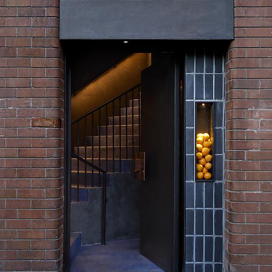 Interior photograph of Four Pillars Laboratory - Eileen's Bar by Anson Smart
