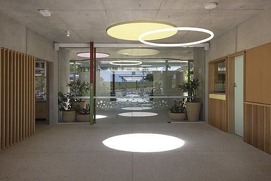 Interior photograph of Rouse Hill Chilcare by Ross Honeysett