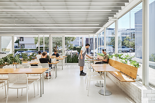 Interior photograph of Industry Beans Brisbane by Andy MacPherson