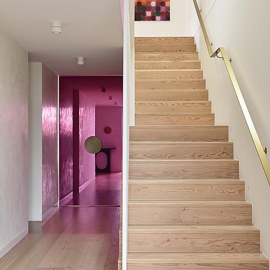 Interior photograph of Toorak House by Photographer: Derek Swalwell