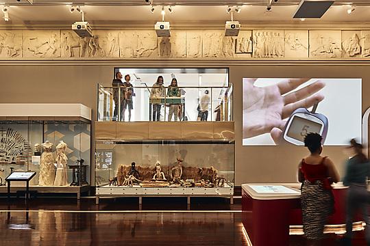 Interior photograph of Western Australian Museum (Boola Bardip) by Peter Bennetts
