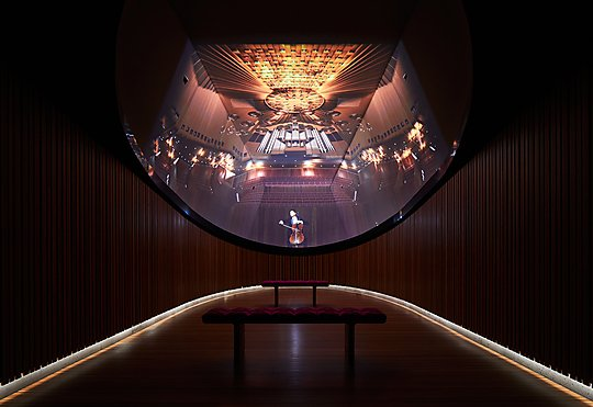 Interior photograph of Sydney Opera House TIDE by Alicia Taylor Photography
