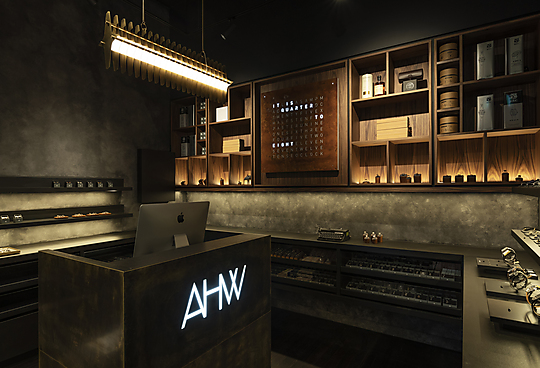 Interior photograph of AHW Studio by Michael Wee