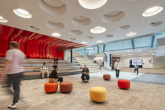 Interior photograph of ACMI Renewal by Shannon McGrath