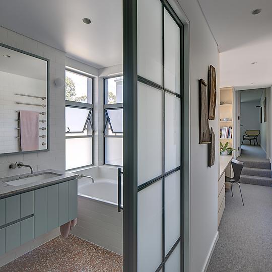 Interior photograph of Annandale Terrace by Brett Boardman