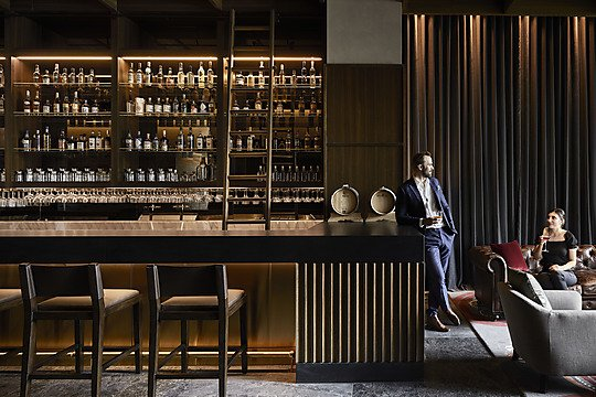 Interior photograph of The Next Hotel, Melbourne by Sharyn Cairns