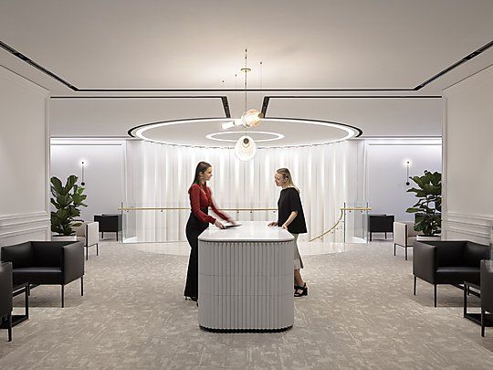 Interior photograph of Chanel by Anson Smart