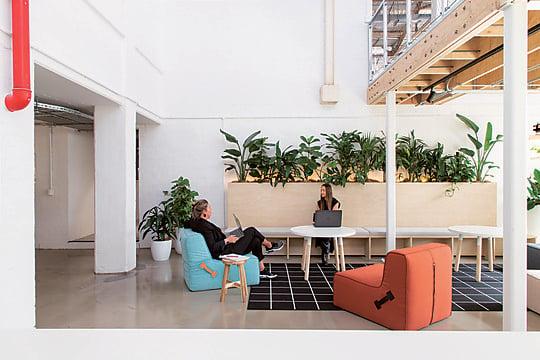 Interior photograph of SLR Consulting Sydney by Jordan Schumacher