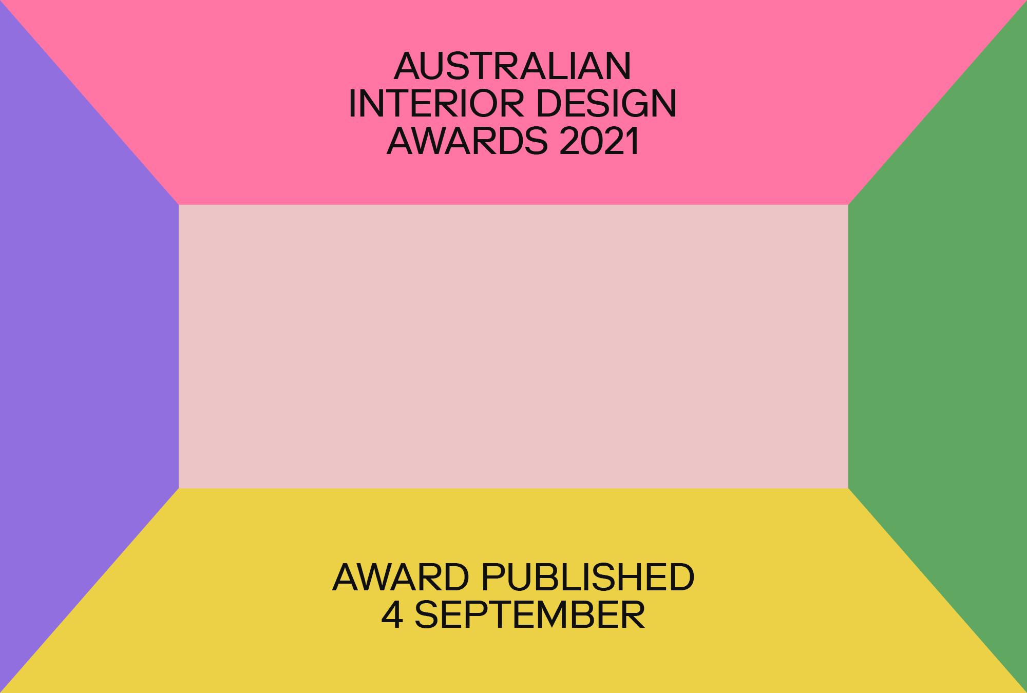 Premier Award for Australian Interior Design